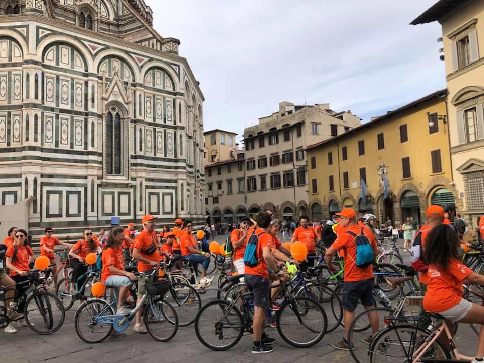 Olandiamo in Bici, manifestazione a Firenze